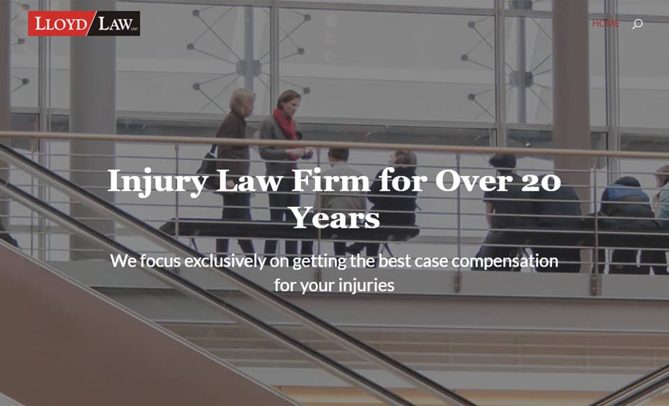 One Page Lawyer Website