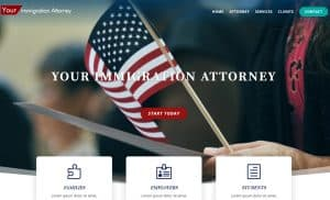 Five Page Lawyer Website