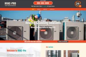 Website for HVAC contractors