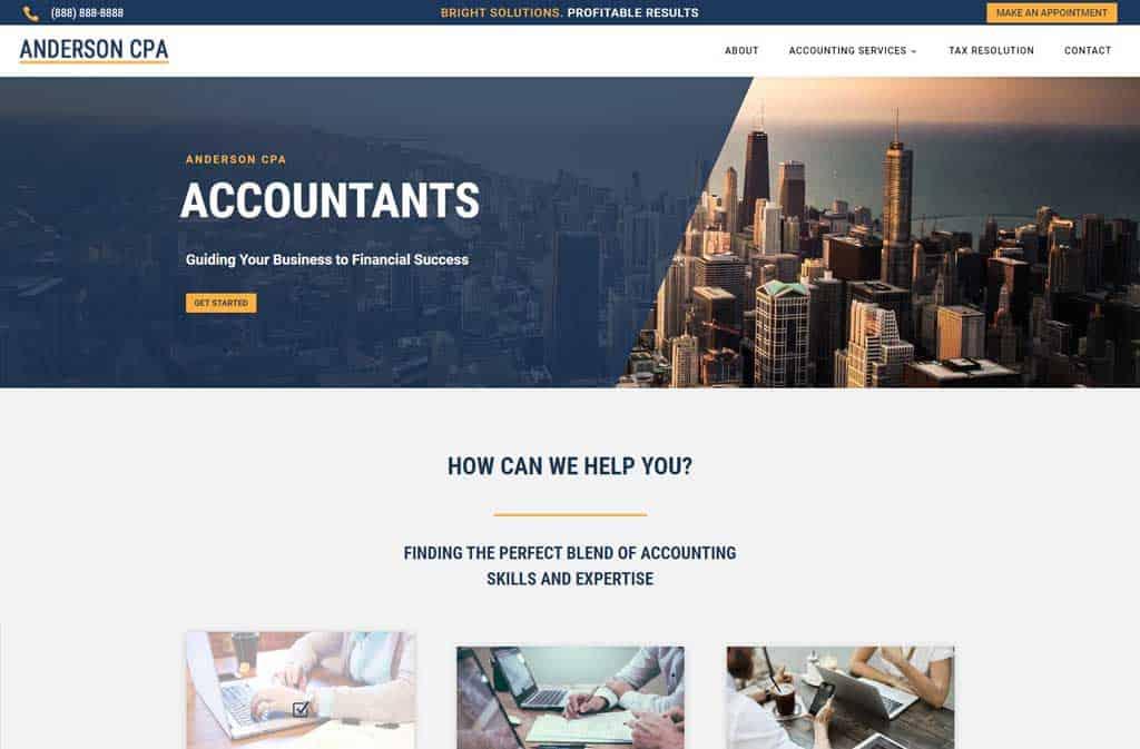 Websites for CPAs