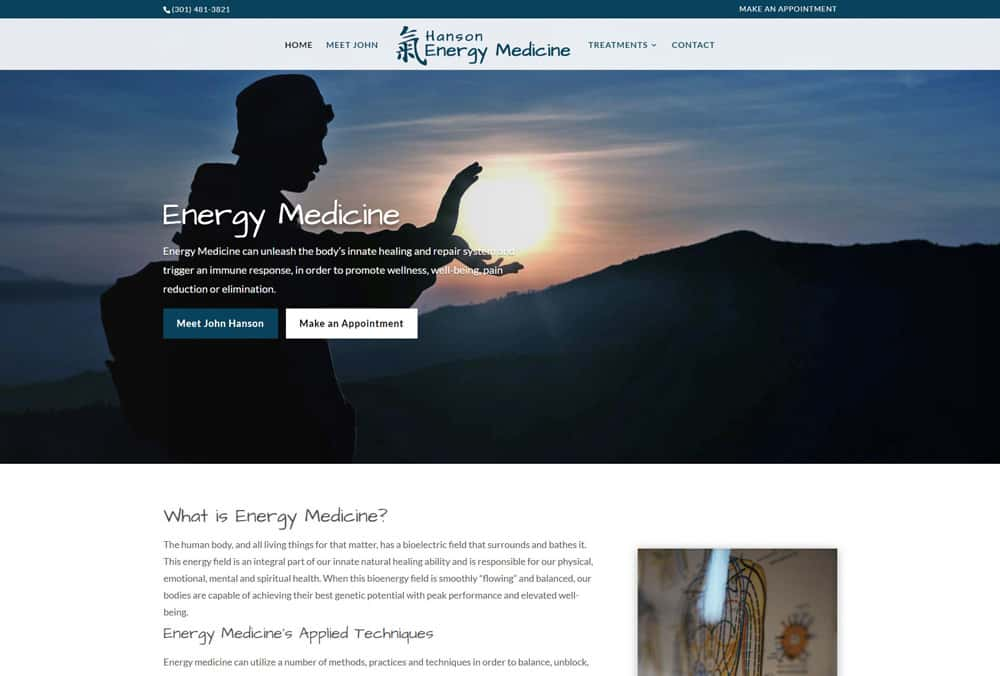 Hanson Energy Medicine
