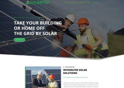 Solar Panel Installation Website
